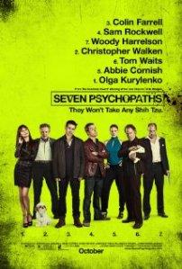 Seven Phsycopaths Poster