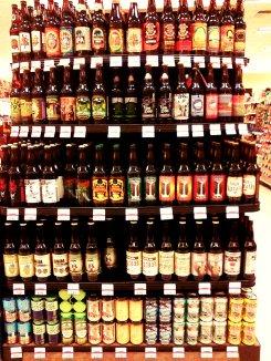 beer bottle pattern