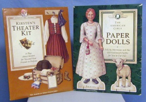 American Girl Paper Dolls from the 90's.