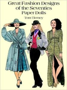 The paper dolls I played with.