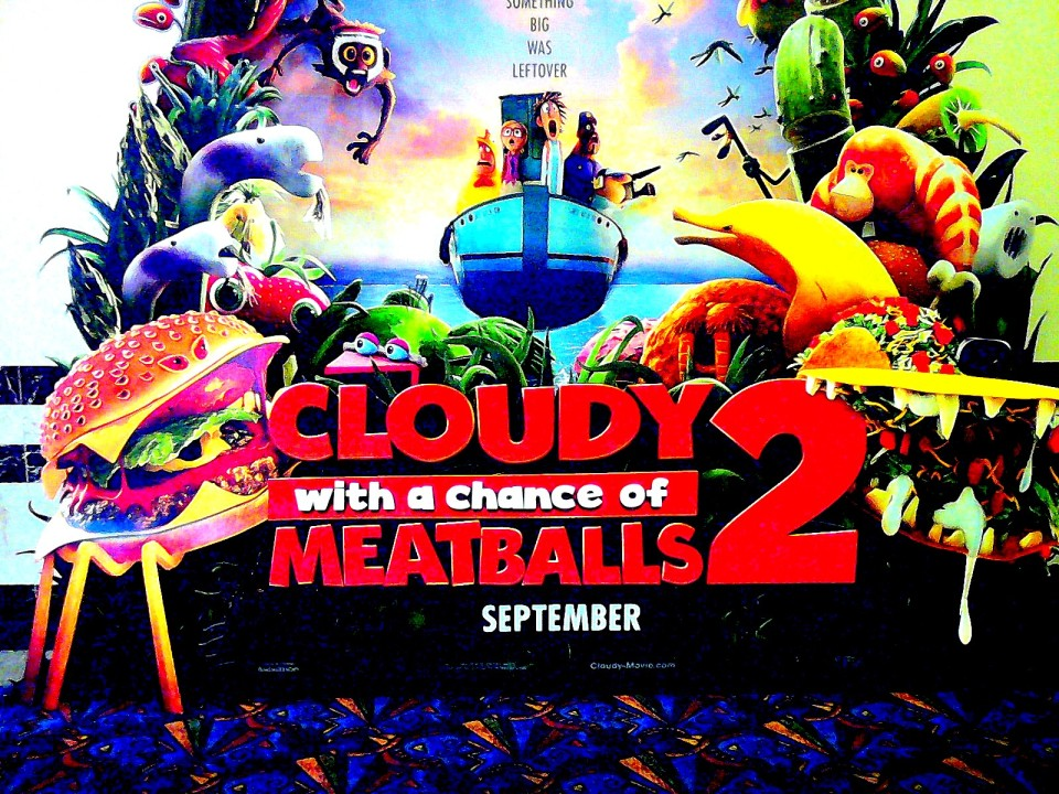 CWACOM 2, Is Cloudy With A Chance of Meatballs 2