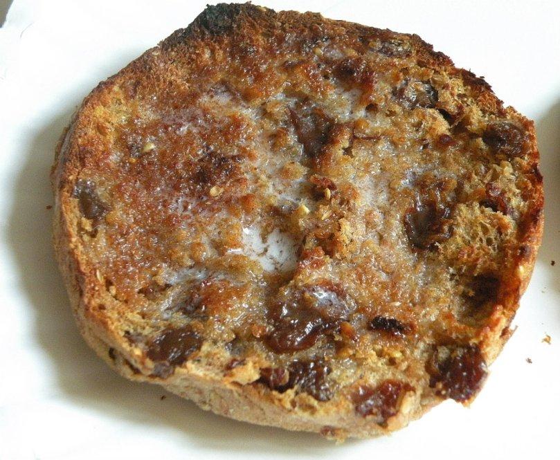Ezekiel english cinnamon toast muffin