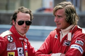 The real Nikki Luada and James Hunt/photo: naharnet.com