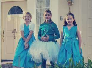 flower girls and jr brides maid