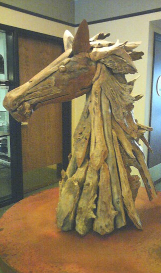 wood horse sculpture crop
