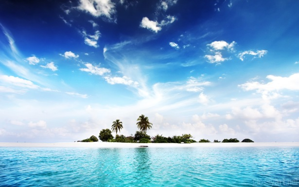 My deserted island, looks like this/photo: freefever.com