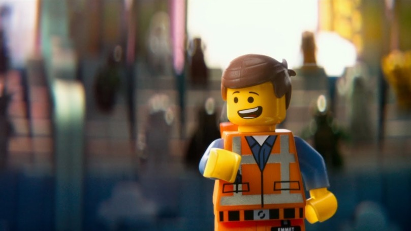 Emmet, The Lego Movie/photo: youtube.com
