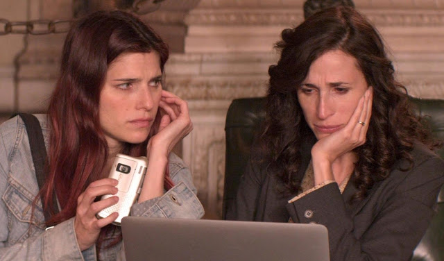 Lake Bell and Michaela Watkins/photo: lylesmoviefiles.com