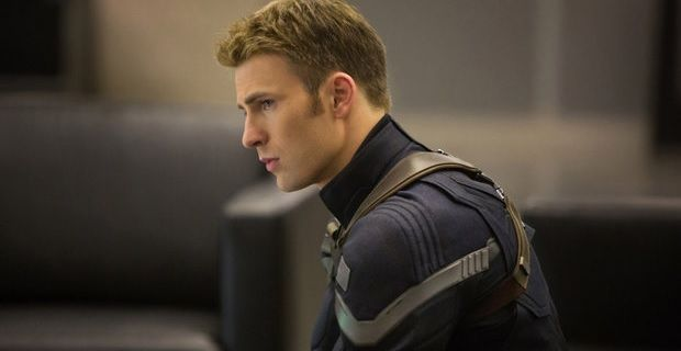 Chris Evan, this must be his good side, but not sure there is a bad side/image: screenrant.com